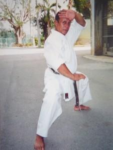 Sensei Ramanitrandrasana René à Okinawa en 2002